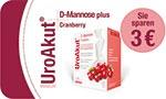 BIOGELAT UroAkut® D-Mannose plus Cranberry